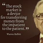 The stock market is a device …
